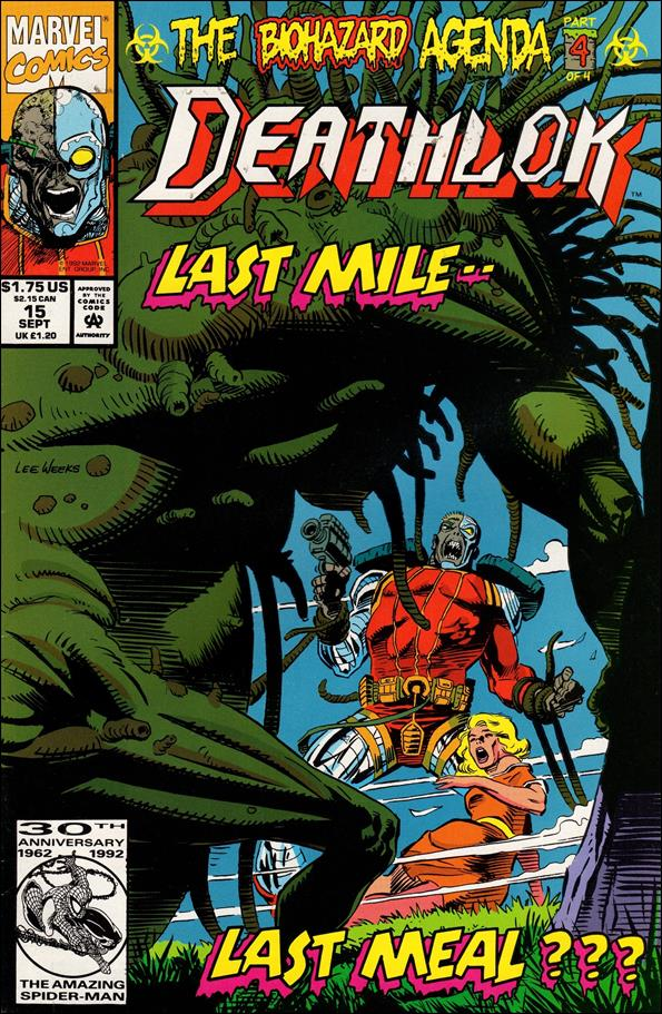 Deathlok (1991) 15-A by Marvel