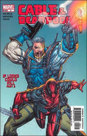 Cable &amp; Deadpool 2-A by Marvel