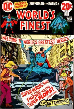 World's Finest Comics 218-A