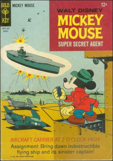 Mickey Mouse 108-A by Dell