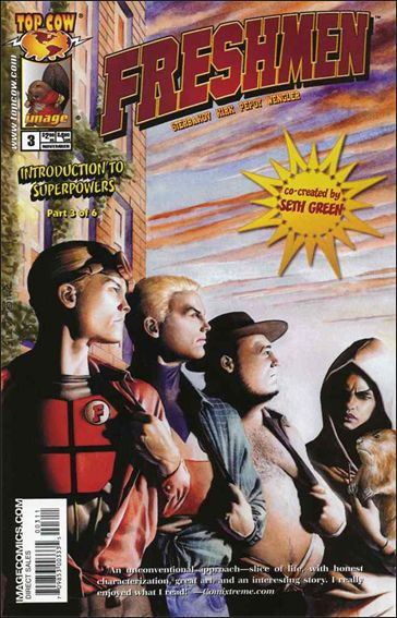 Freshmen (2005) 3-A by Top Cow