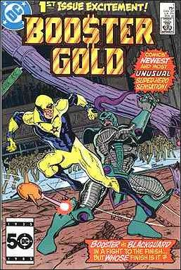 Booster Gold (1986) 1-A by DC