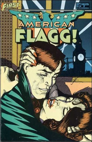 American Flagg! (1983) 24-A by First