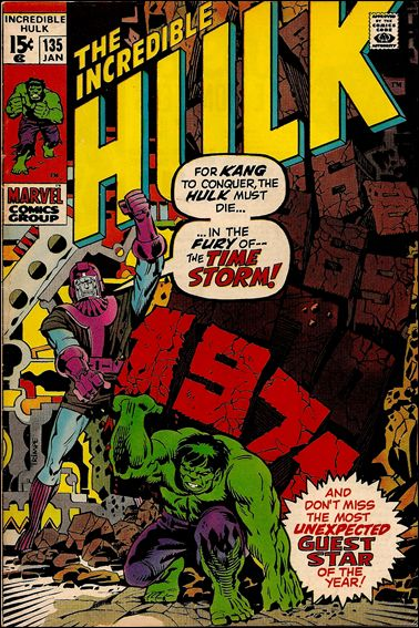 Incredible Hulk (1968) 135-A by Marvel