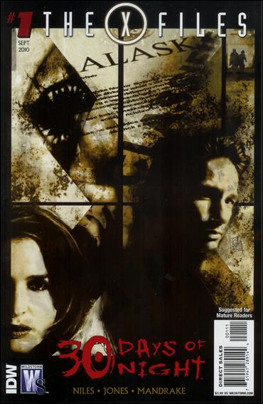 X-Files/30 Days of Night 1-A by WildStorm