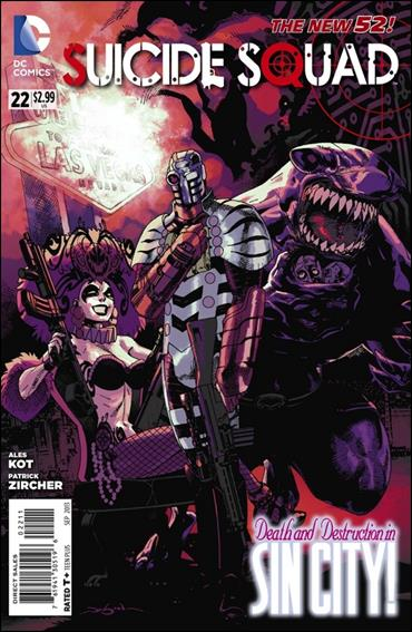 Suicide Squad (2011) 22-A by DC