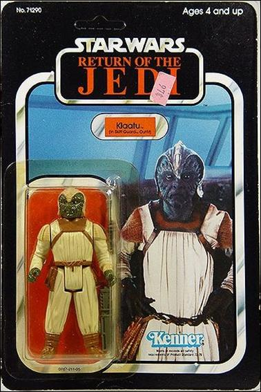 "Star Wars 3 3/4"" Basic Action Figures (Vintage) Klaatu (in Skiff Guard Outfit) (RotJ) by Kenner"