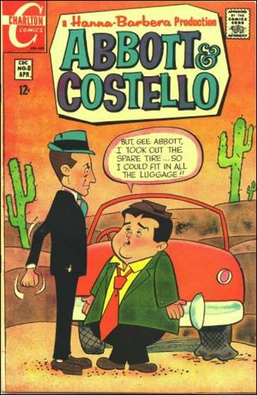 Abbott and Costello (1968) 8-A by Charlton