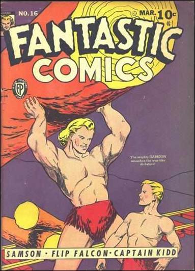 Fantastic Comics (1939) 16-A by Fox