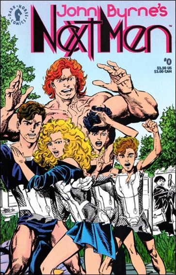 John Byrne's Next Men (1992) 0-A by Dark Horse