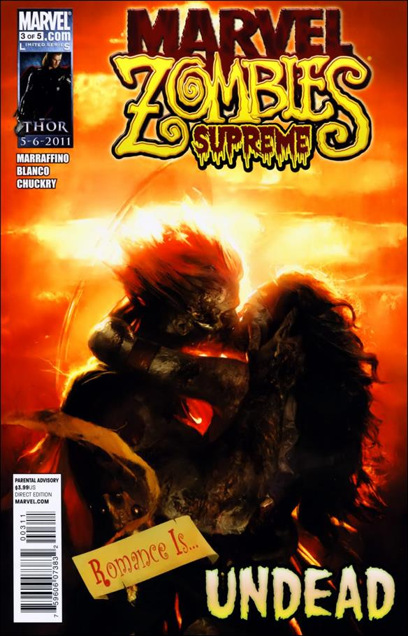 Marvel Zombies Supreme 3-A by Marvel