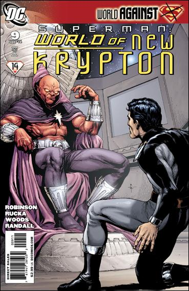 Superman: World of New Krypton 9-A by DC