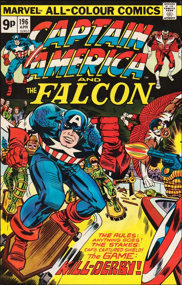 Captain America (1968) 196-C by Marvel
