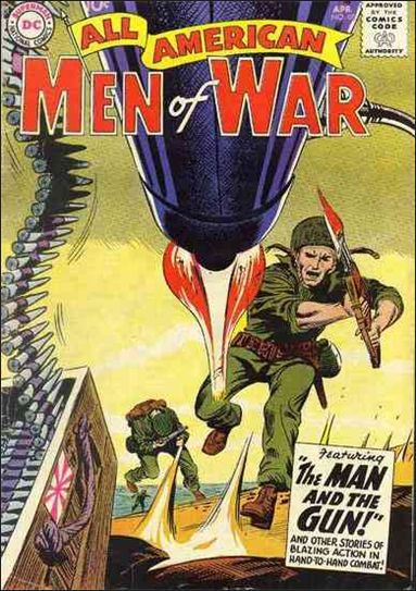 All-American Men of War 68-A by DC