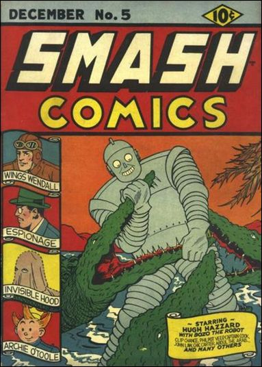 Smash Comics (1939) 5-A by Quality