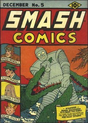 Smash Comics (1939) 5-A