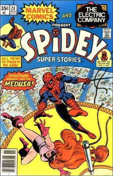 Spidey Super Stories 28-A by Marvel