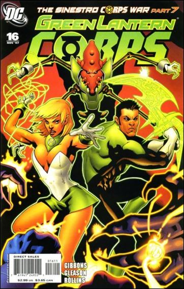 Green Lantern Corps (2006) 16-A by DC