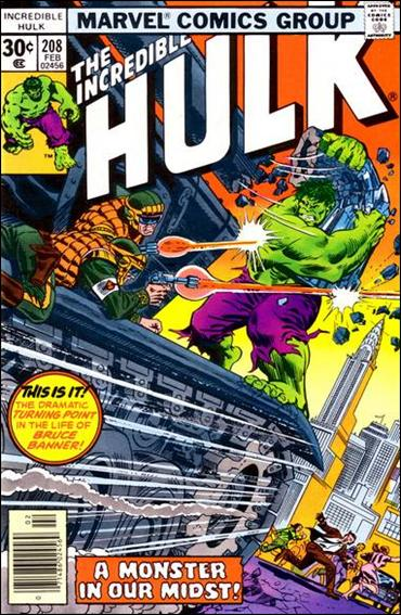 Incredible Hulk (1968) 208-A by Marvel