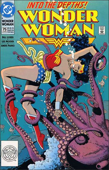 Wonder Woman (1987) 75-A by DC