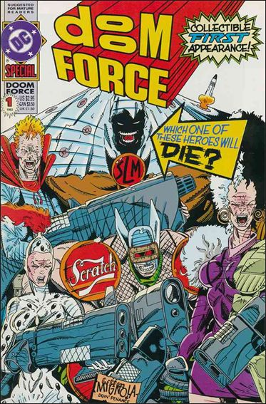 Doom Force Special 1-A by DC