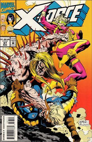 X-Force (1991) 37-A