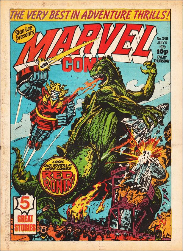 Marvel Comic (UK) 349-A by Marvel UK