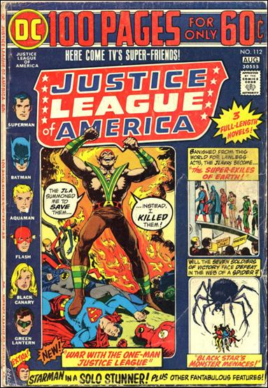 Justice League of America (1960) 112-A by DC