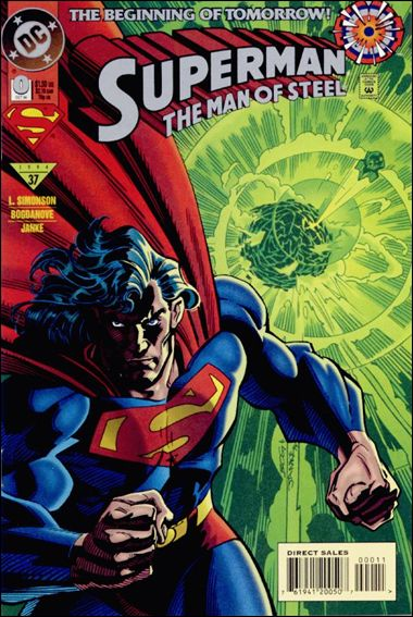 Superman: The Man of Steel 0-A by DC