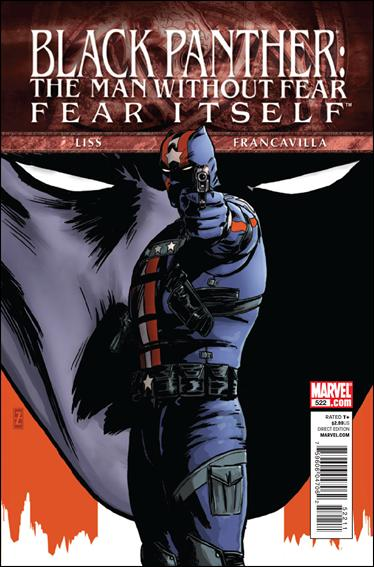 Black Panther: The Man Without Fear 522-A by Marvel