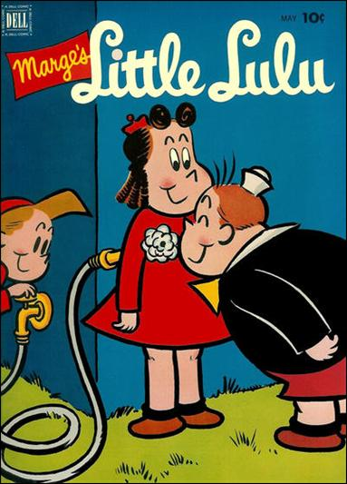 Marge's Little Lulu 47-A by Dell