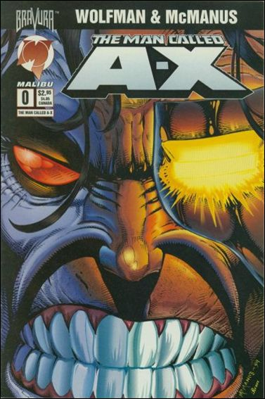 Man Called A-X (1994) 0-A by Malibu