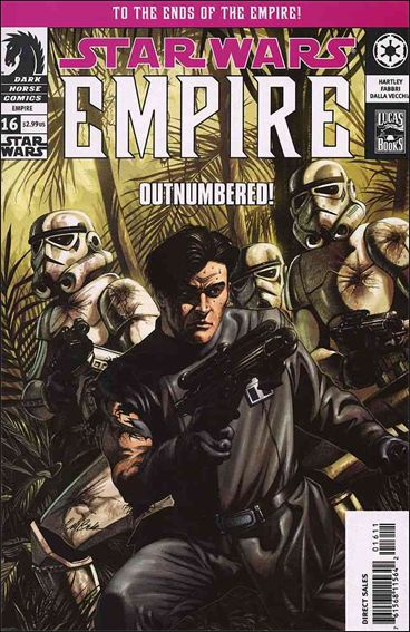 Star Wars: Empire 16-A by Dark Horse
