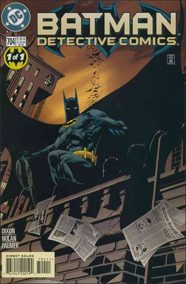 Detective Comics (1937) 704-A by DC
