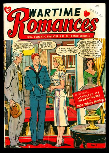 Wartime Romances 1-A by St. John