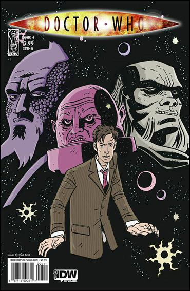 Doctor Who (2009) 4-A by IDW