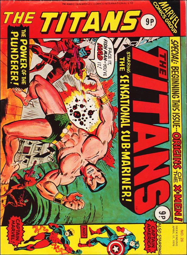 Titans (UK) 26-A by Marvel UK