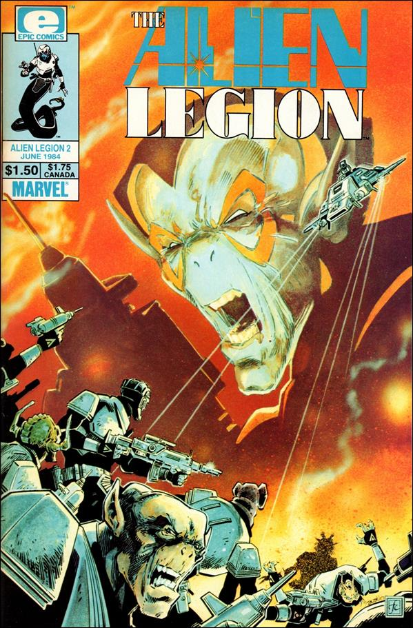 Alien Legion (1984) 2-A by Epic