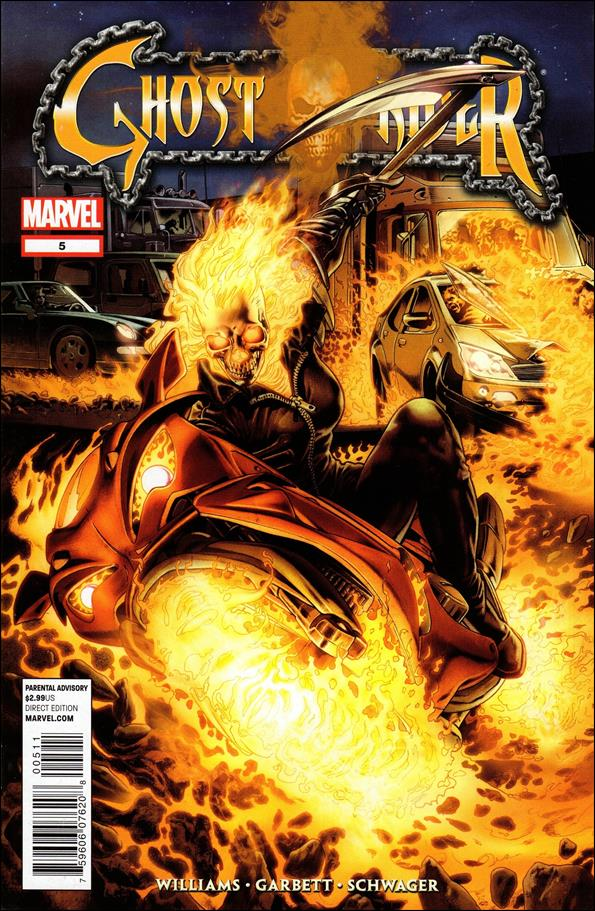 Ghost Rider (2011) 5-A by Marvel