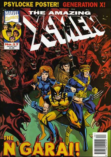 Amazing X-Men (UK) 17-A by Marvel UK