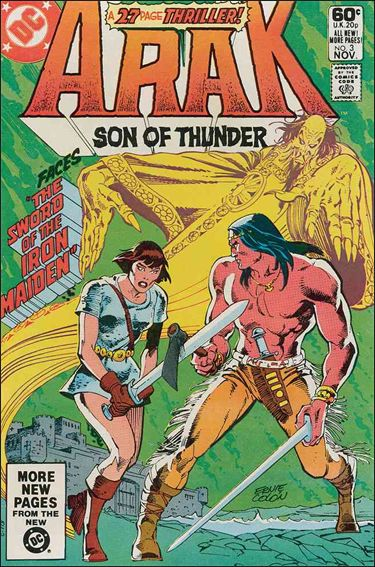 Arak Son of Thunder 3-A by DC
