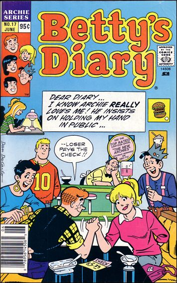 Betty's Diary 17-A by Archie