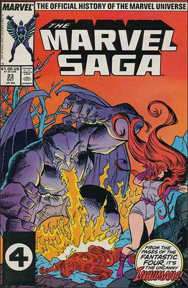 Marvel Saga 23-A by Marvel