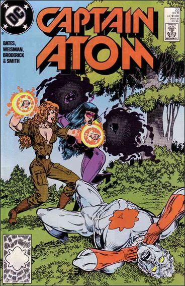 Captain Atom (1987) 22-A by DC