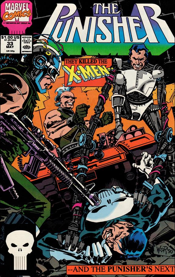 Punisher (1987) 33-A by Marvel