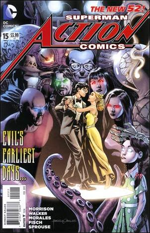Action Comics (2011) 15-A by DC