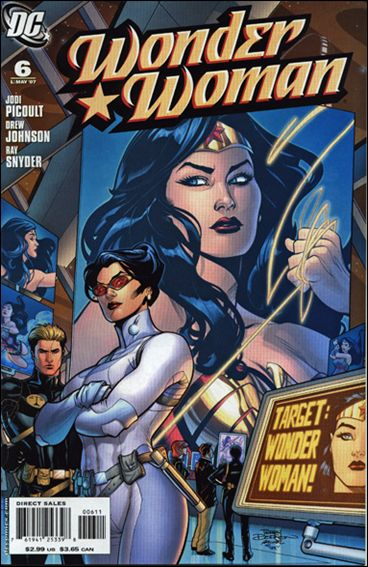 Wonder Woman (2006) 6-A by DC