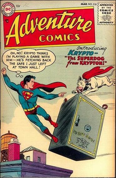 Adventure Comics (1938) 210-A by DC