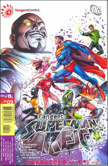 Tangent: Superman's Reign 11-A by DC