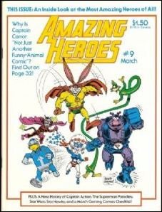 Amazing Heroes 9-A by Fantagraphics